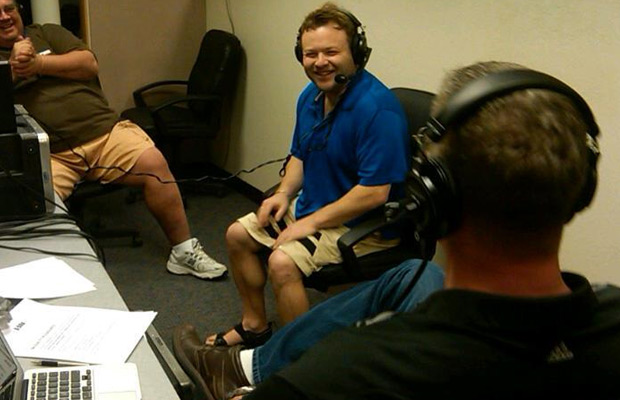 Frank Caliendo visits us at Spring Training